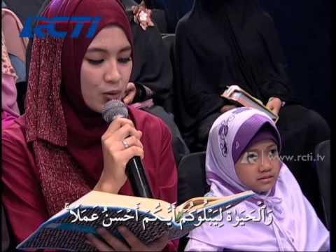 Aza Ditest Alisa Subandono Sambung ayat   Hafiz Indonesia 2014