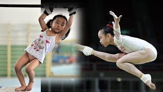Chinese children gymnastics training | from boarding school to the gym