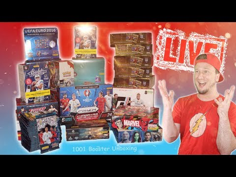 [🔴 Live] 1000 + 1 BOOSTER UNBOXING   WELTREKORD