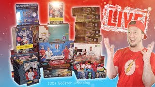 [🔴 Live] 1000 + 1 BOOSTER UNBOXING | WELTREKORD