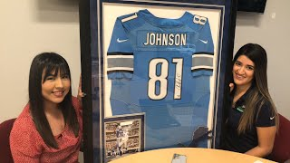 Car Accident Lawyer Dallas   Calvin Johnson Signed Jersey Giveaway