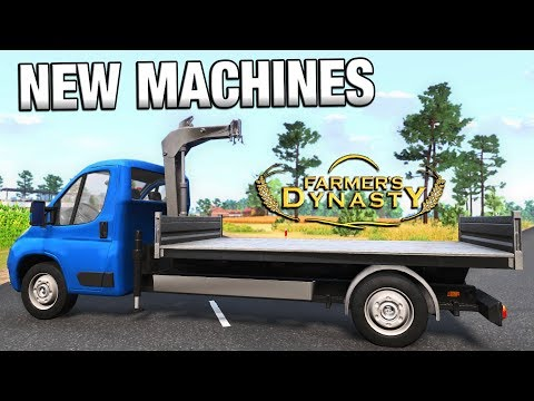 DRIVING EVERY MACHINE IN THE GAME | Farmer's Dynasty | Ep 13