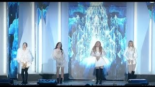161119 blackpink 블랙핑크 whistle 휘파람 playing with fire 불장난 2016 melon music awards