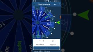 1xbet Fortune Wheel casino game