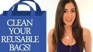 How To Clean Your Reusable Bags! Easy Home Cleaning Ideas (clean My Space)