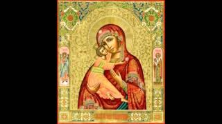 Материнская молитва за чадо свое.