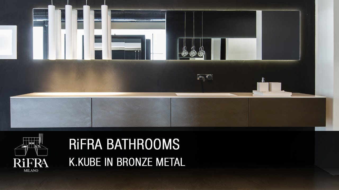 RiFRA K.KUBE in Finitura Metallo Bronzo - YouTube