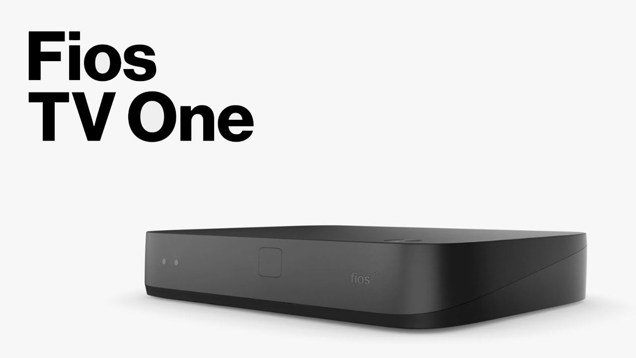 introducing fios tv one - a new set top box from verizon - youtube  youtube