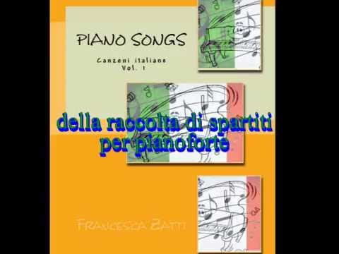 Spartiti per pianoforte canzoni italiane di tutti i tempi