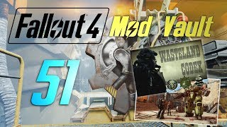 FALLOUT 4 Mod Vault 51 Stories, Roads and Ridable Robots