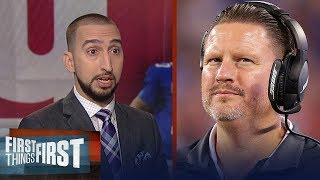Has Ben McAdoo lost control of the Giants? Nick and Cris discuss | FIRST THINGS FIRST