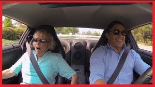 grandmas gt r launch control reaction gtr 700 hp hilarious