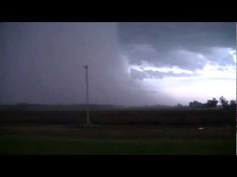 Huge Rain/Hail Curtains In Michigan May 3, 2012