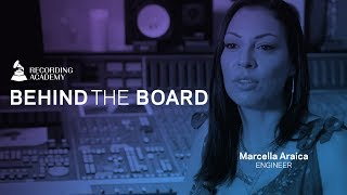 Marcella Araica Talks The Art Of Engineering & Working with Missy Elliot | Behind The Board