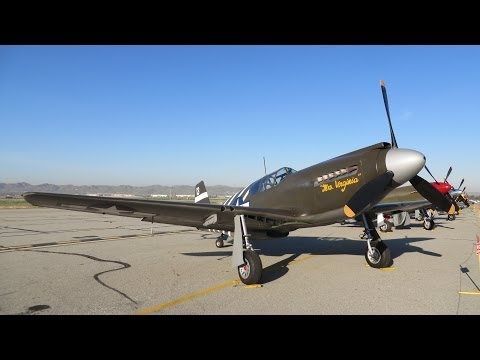 """Planes of Fame Airshow 2014 """"The Warbirds"""" part 1"""