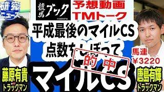 【競馬ブック】マイルチャンピオンシップ 2018 予想【TMトーク】