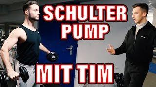 Mein Weg zur Bestform | Schulter auf Pump mit Tim | inscopelifestyle