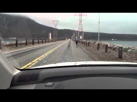 Dashboard cam: Port Hastings to Aulds Cove