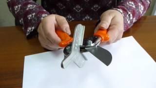 Резак. Инструмент для резки силиконового профиля.(Как и чем резать силиконовый профиль? Этот вопрос может возникнуть в процессе монтажа душевой кабины. Сложн..., 2016-05-27T05:33:03.000Z)