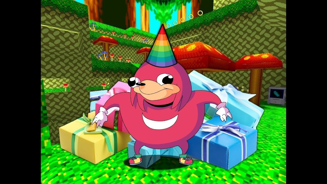 Happy birthday Knuckles