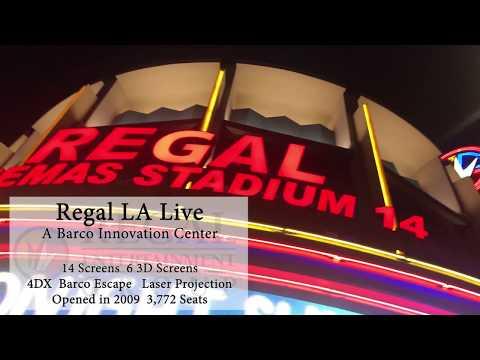 Regal LA Live: A Barco Innovation Center