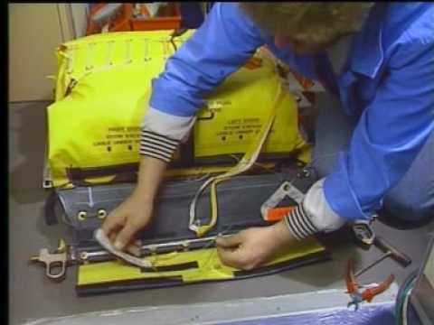 Airbus A320 Family | INSTALLATION OF AN SLIDE RAFT PACK ASSEMBLY