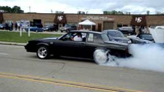 87 Buick grand national leaving jimmy's shop