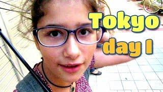 Tokyo Trip 2016 Day 1 東京の旅