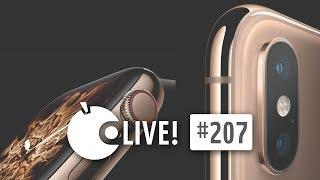 Apfeltalk LIVE! #207 - Nach dem Apple Event: Hallo iPhone Xs