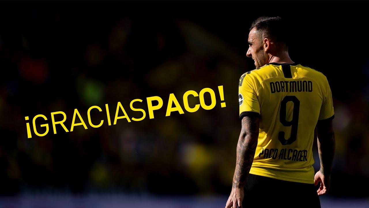 Gracias, Paco! | Paco Alcacer verlässt Borussia Dortmund