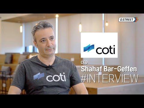 [D.terview] COTI - CEO Shahaf Bar-Geffen