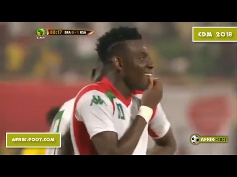 Burkina Faso vs Afrique du Sud (1-1) - Eliminatoires CDM 2018