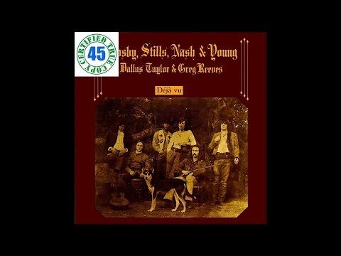 CROSBY, STILLS, NASH & YOUNG - ALMOST CUT MY HAIR - Déjà Vu (1970) HiDef :: SOTW #131