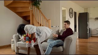 YOU CAN LOOK BUT YOU CAN'T TOUCH PRANK ON HUSBAND!