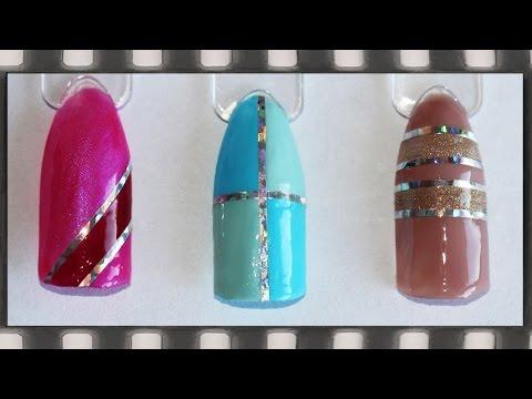 Полоски на ногтях- лучшие вариации маникюра с полосками