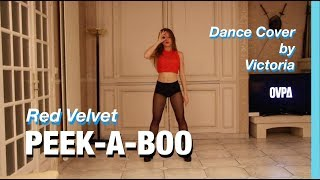 RED VELVET PEEK A BOO DANCE COVER BY VICTORIA