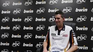 Michael Unterbuchner had 'already booked his flight home' before stunning victory over James Wade
