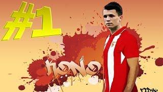 Карьера игрока FIFA 16 - КОНОПЛЯНКА! #1 - Начало пути!