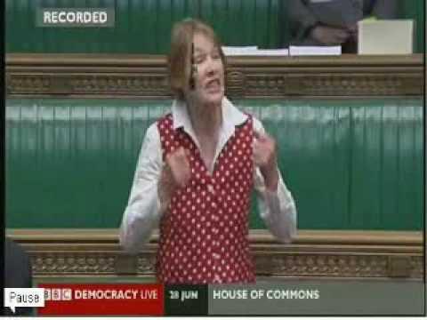 Glenda Jackson attacks the ConDem budget