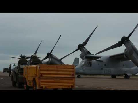 MV-22 Osprey Trans-Pacific B-roll