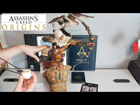 UNBOXING ASSASSIN'S CREED ORIGINS - LEGENDARY DAWN OF THE CREED EDITION
