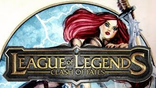 Fan art: Katarina League of Legends by Pietcold Time-lapse