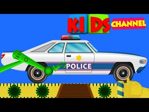 Police Car Toy Factory | kids Show | Cartoon Videos For Children by Kids Channel