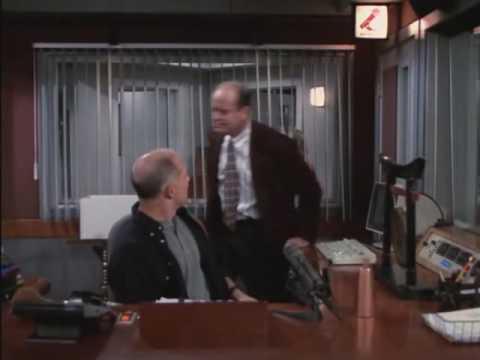 Frasier talks like a GUY!