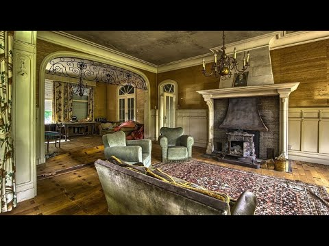Abandoned lawyers mansion with an archive and wine cellar !