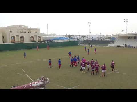 Qatar Rugby - Doha Vets 1 vs Blue Phoenix - 08 December 2017 - 1st Half Time