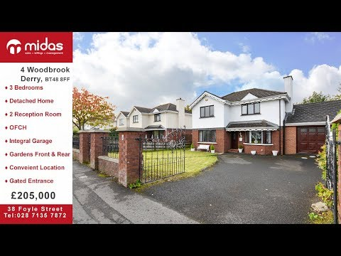 4 Woodbrook Derry