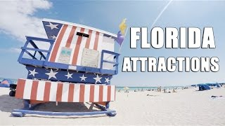 Florida Attractions Miami/Key Largo/West Palm Beach/ Orlando/ Tampa [GOPRO hero 4 Silver, 1080p]