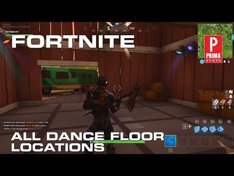 Fortnite All Dance Floor Locations