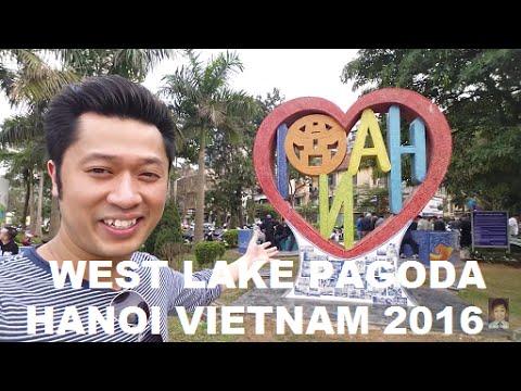 West Lake Pagoda Trấn Quốc Pagoda Hanoi Vietnam 2016